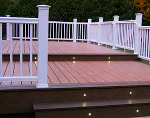 Low Voltage L E D Deck Lighting Bergendecks Bergen